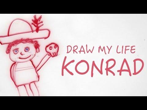 Min bästa kompis dog - DRAW MY LIFE   Konrad Ydhage (STHLM Panda)