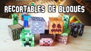 ✔ Cómo Hacer los Bloques de Minecraft PaperCraft