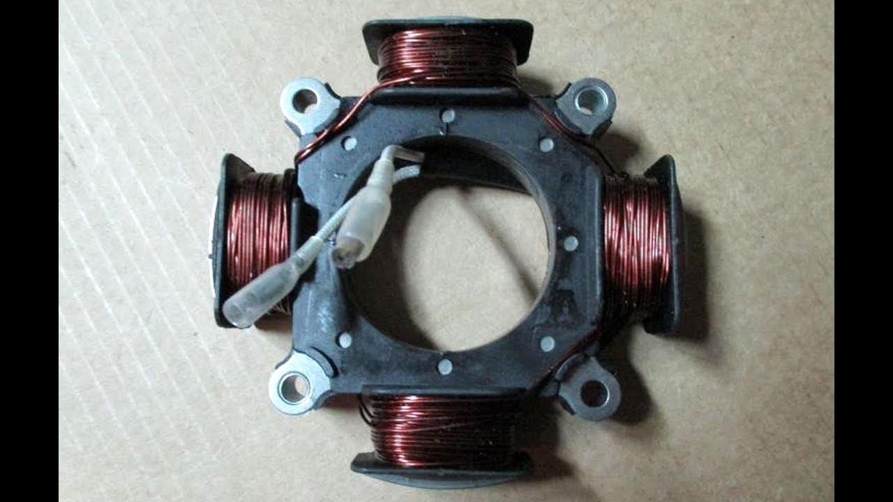 Катушка освещения на двигатель лифан своими руками фото 625