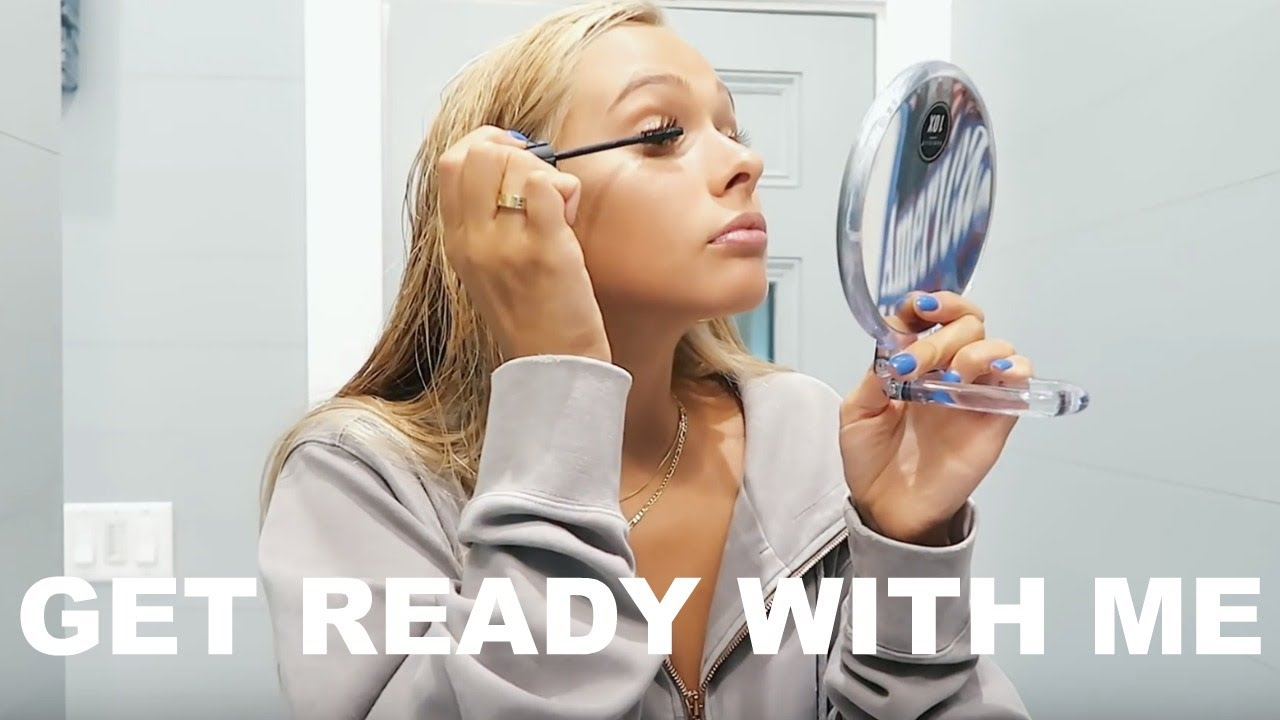GRWM | natural & glowy make-up look