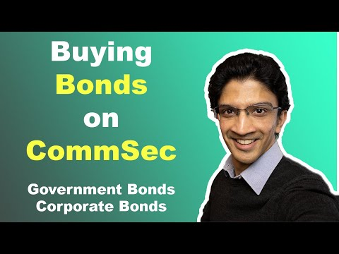 Bonds on CommSec: How to buy Government and Corporate Bonds on CommSec