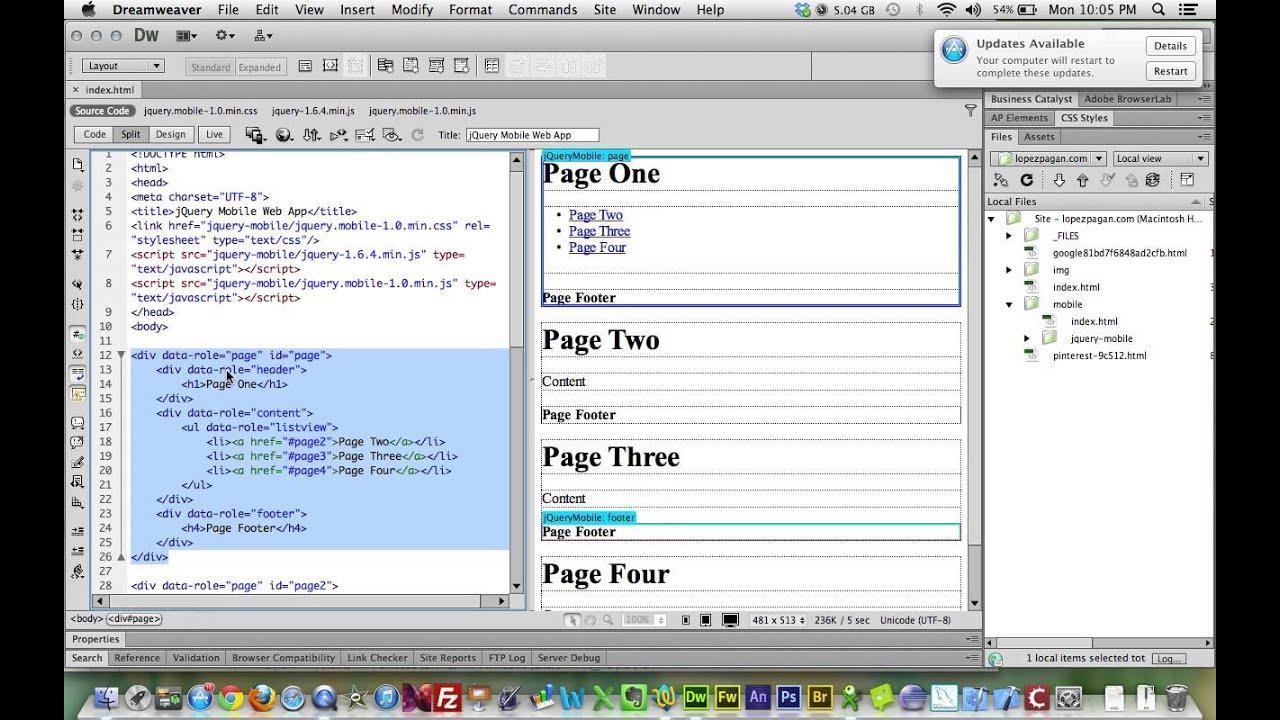 1 c mo crear una aplicaci n web para m viles youtube Crear website