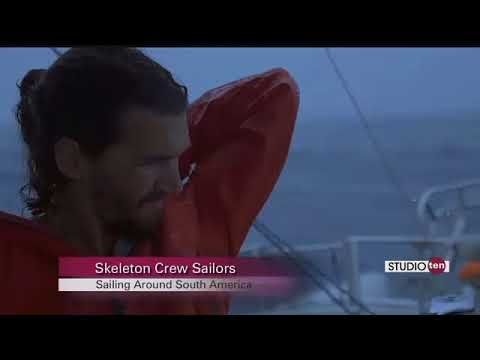 The two man Skeleton Crew sets sail to tackle Cape Horn!