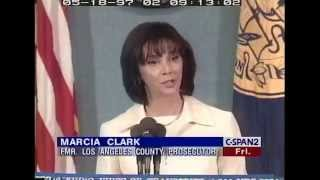 Marcia Clark talks about the O.J. Simpson Trial ( May 18, 1997 )
