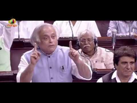 Jairam Ramesh Speech On Aadhaar Bill | Counters Arun Jaitley In Rajya Sabha | Mango News