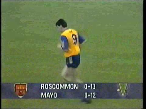 Connacht Football Final 1991 and Replay Roscommon v Mayo. Derek Duggan point!