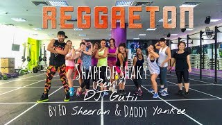 Shape of Shaky (Remix) DJ Gutii by Ed Sheeran & Daddy Yankee | Zumba® Fitness | Masterjedai