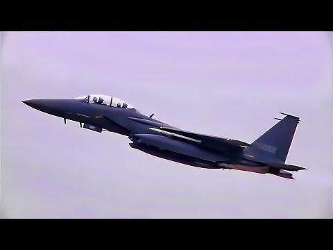 F-15K Slam Eagles Takeoff • Kunsan Air Base South Korea