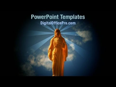 Jesus Christ Powerpoint Template Backgrounds Digitalofficepro
