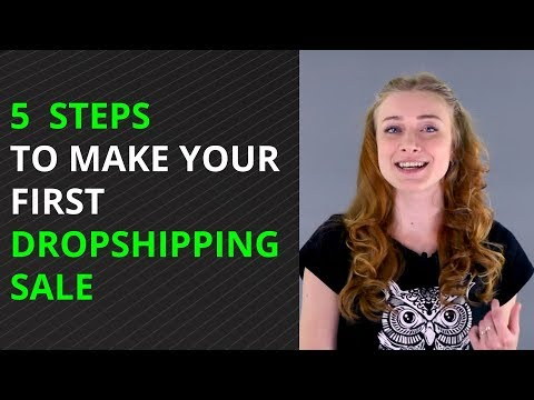Ecommerce MARKETING: 5 Steps To Get Your First Sale