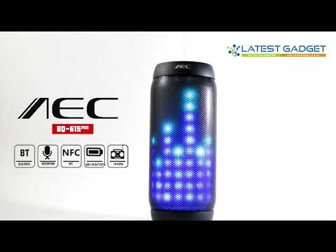 AEC Bluetooth Speaker With NFC MP3 And FM Radio