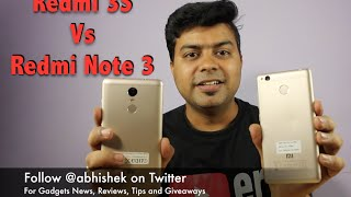 Hindi | Redmi 3S VS Redmi Note 3 Comparison Review, Which One To Buy | Gadgets To Use
