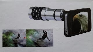 Test Review Mobile Telephoto Lens 12x Zoom (Universal Lens for Smartphone Camera)