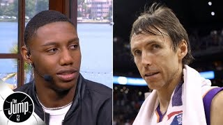 RJ Barrett's dad used to play pickup with Vince Carter, and Steve Nash is RJ's godfather | The Jump