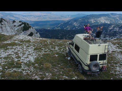 Trip to Albania, Iveco Daily 4x4