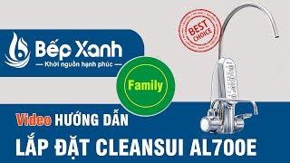 [Cleansui AL700E] - Hướng dẫn lắp đặt máy điện giải Mitsubishi Cleansui AL700E mua từ BepXANH.com