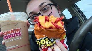 Cheesy Hot Cheetos MUKBANG