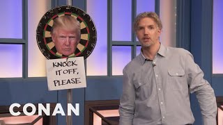A Canadian Responds To Trump's Latest Attack On Justin Trudeau  - CONAN on TBS