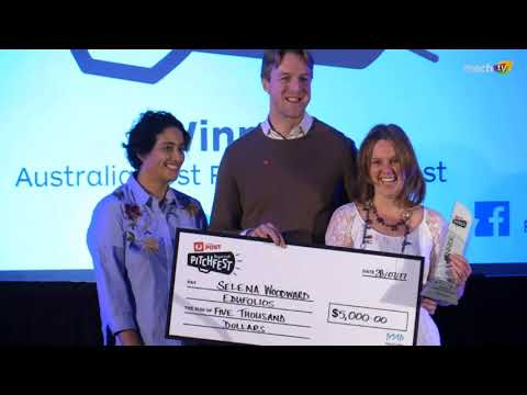 Edufolios Win the Australia Post Regional Pitchfest South Australia Final