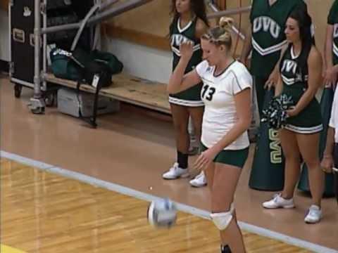 UVU: Women's Volleyball vs Michigan 2011 - YouTube