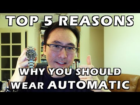 Top 5 Reasons Why You Should Wear Automatic/Mechanical Watches - Perth WAtch #93