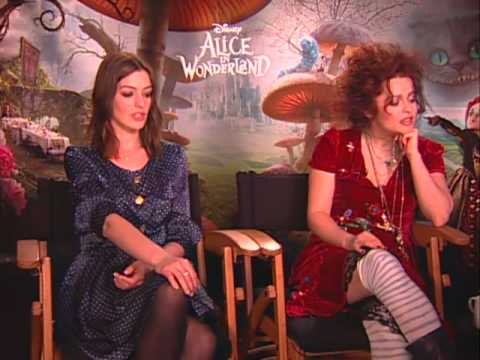 Anne Hathaway and Helena Bonham Carter on botox, big heads and acid trips