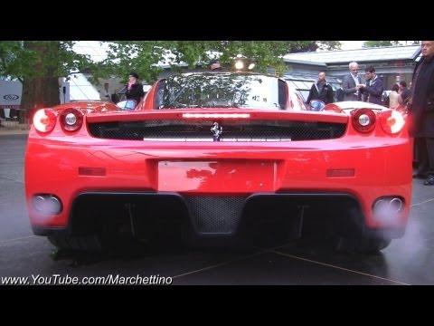 Loud Start Ups: Ferrari Enzo vs 599XX vs F50 vs F40 vs GTO