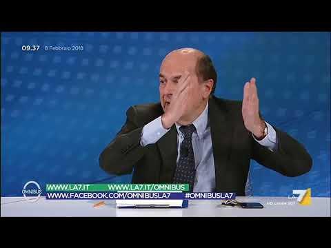Bersani (LeU): Dialogo con M5S sulla base di 4 punti, se ci stanno bene altrimenti 'ciaone'