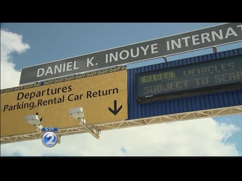 Signs reflecting new name installed at Honolulu airport, but will more be done?