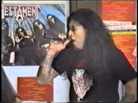 Testament Practice Disciples of the watch Palm Springs CA USA 1993.