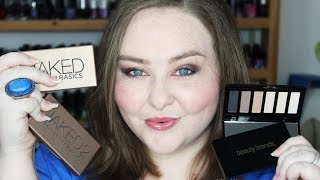 Beauty Brands vs Urban Decay Naked Basics Palettes Review, Swatches, & Eye Look! Thumbnail