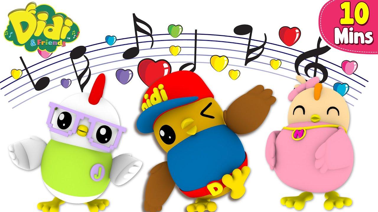 Didi & Friends Español   Si te gusta estar contento   Canciones infantiles animadas