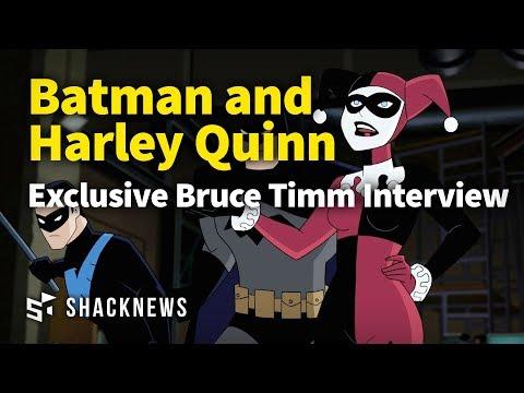 Animation Legend Bruce Timm Talks Batman And Harley Quinn