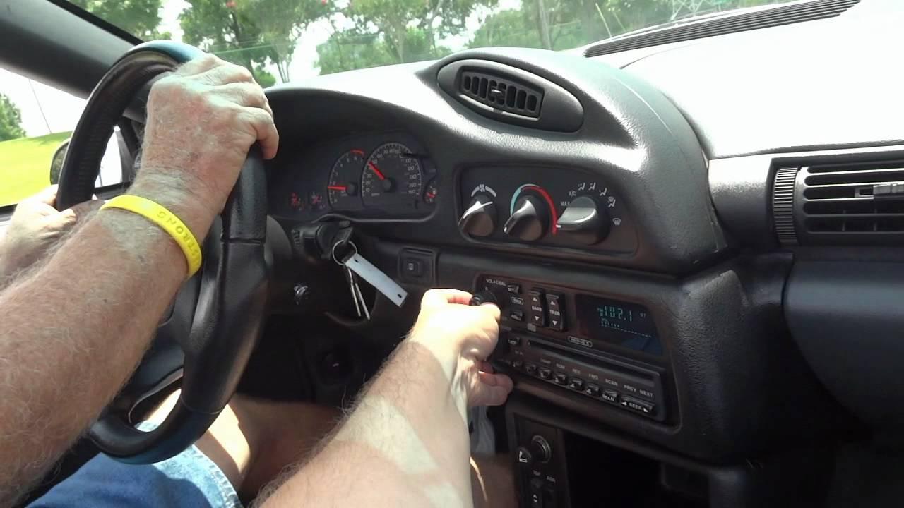 Camaro chevy camaro 1995 : 1995 Chevrolet Camaro Z/28 Presentation - YouTube