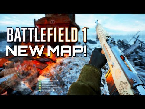 Battlefield 1: New Map Volga River - In the name of the Tsar (PS4 PRO Multiplayer Gameplay)