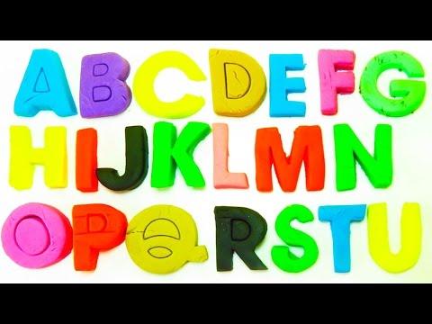 Aprender el Alfabeto con play doh en español | Todas las Letras de Play doh