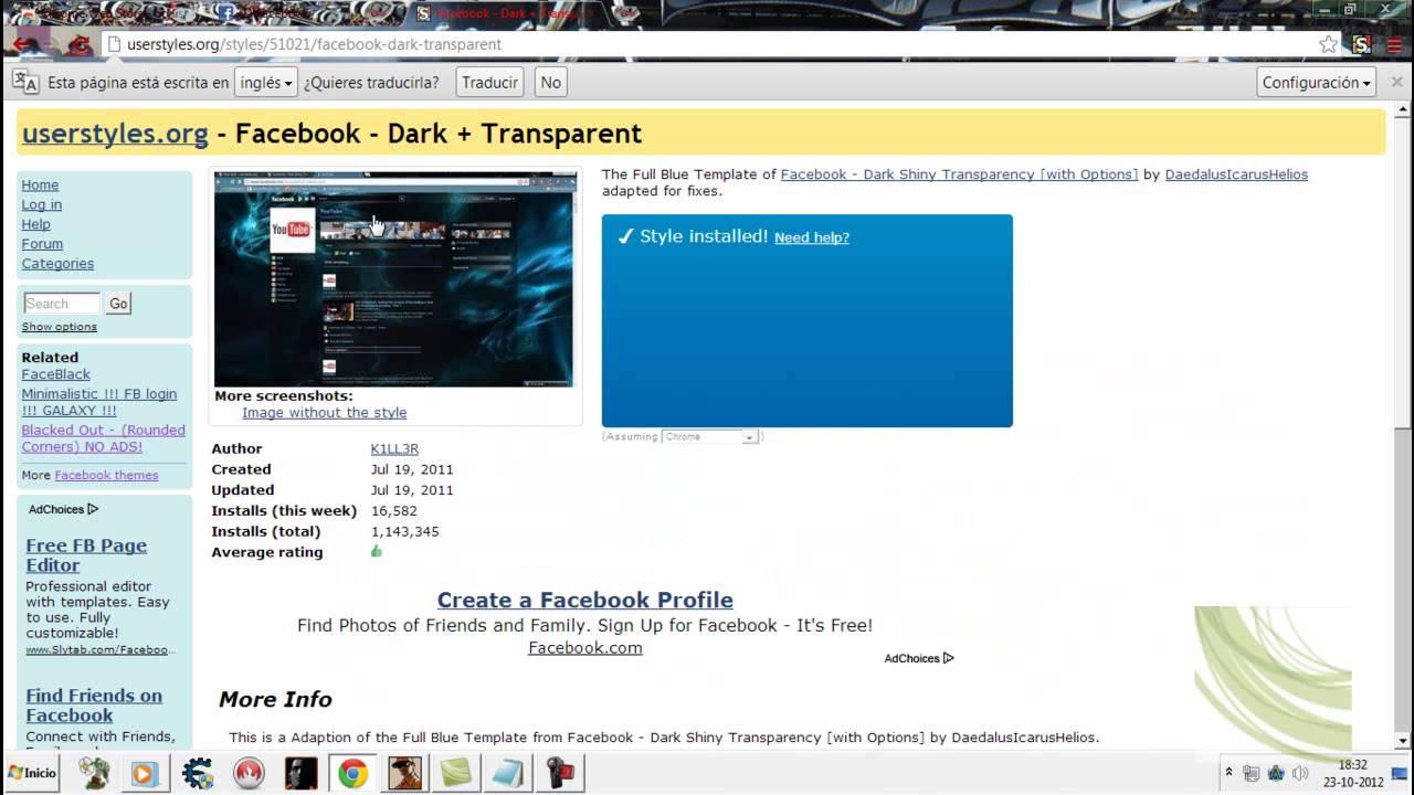 Stylish descargar para el google chrome catalog photo