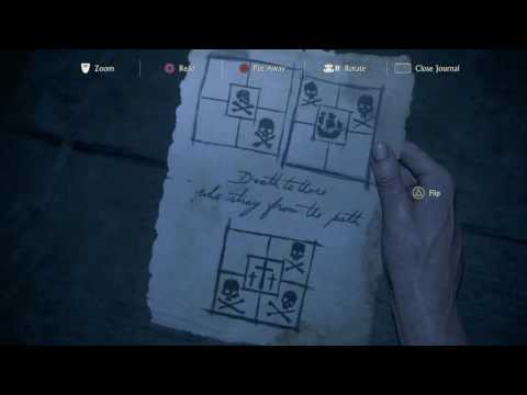 Uncharted 4: A Thief's End - Avery's Descent: Deathtrap Tile Puzzle (Skull, Ship) ''In Your Face''