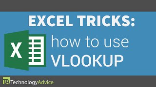 Excel Tricks - How to Use the VLOOKUP Formula