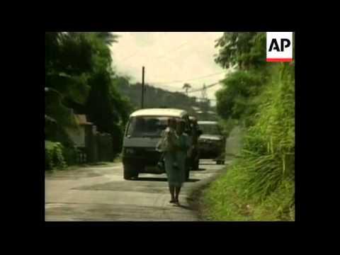 GRENADA: CUBAN PRESIDENT FIDEL CASTRO VISIT