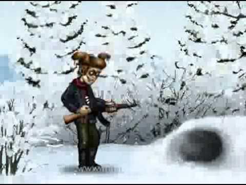 мульт анекдот  невезучий охотник
