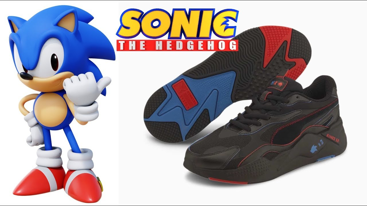 Official Puma X Sonic Sneakers Are Now Available