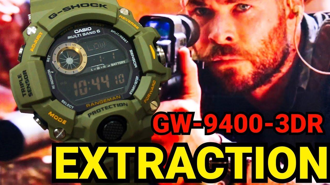 G-Shock ในหนังดัง Extraction GW-9400-3DR RANGEMAN