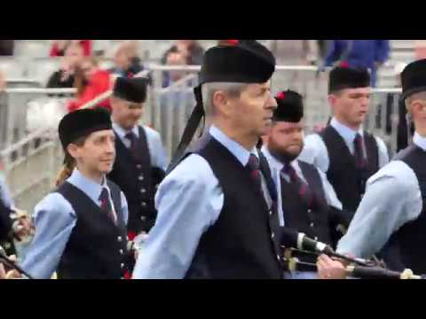 World Pipe band Championships 2017 - Field Marshal Montgomery MSR - [4K/UHD]