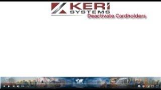 Doors.NET - Cardholders De-activate