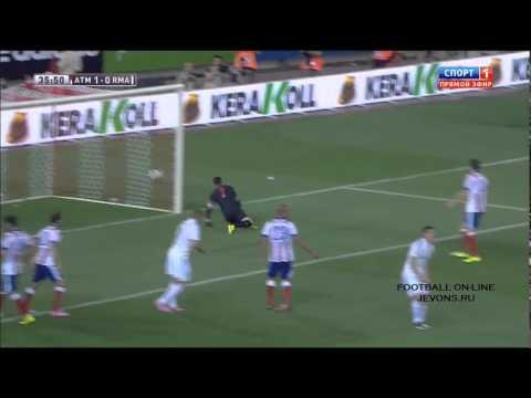 Атлетико - Реал Мадрид обзор матча ()