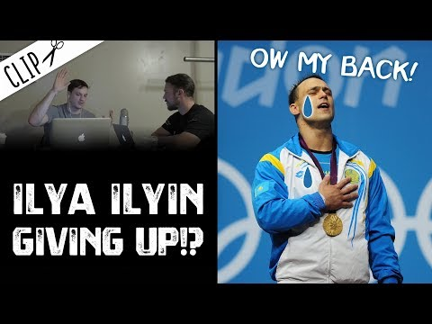 Ilya Ilyin is Bowing Out?