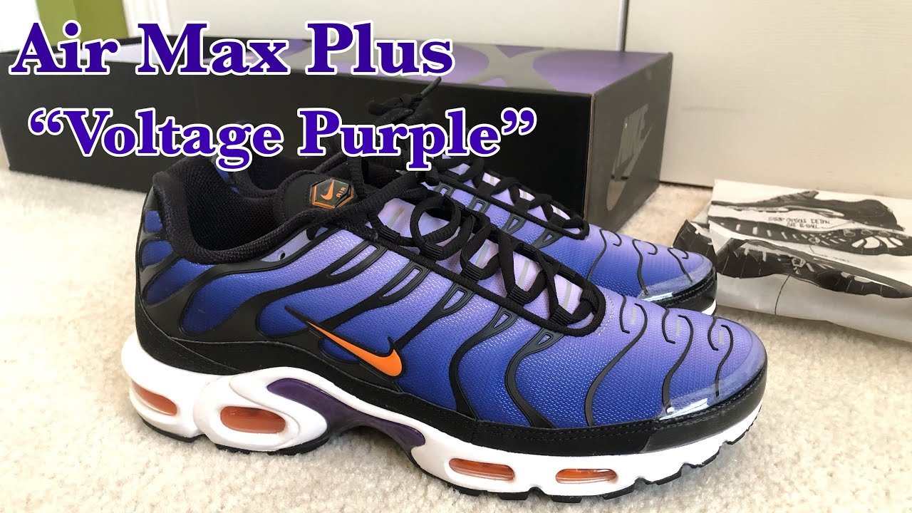 "new style d1f32 176a5 Air Max Plus OG ""Voltage Purple"""