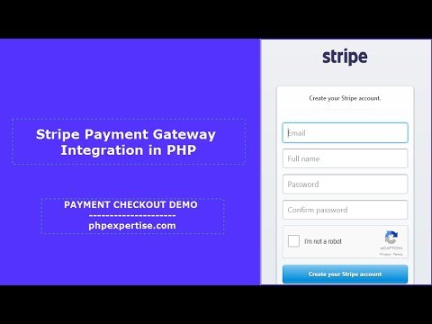 How To Integrate Stripe Payment Gateway | PHP | Tutorial | Beginners |  phpexpertise com
