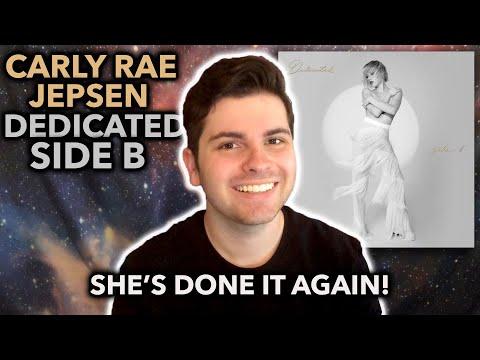 Carly Rae Jepsen – Dedicated Side B | REACTION + ANALYSIS